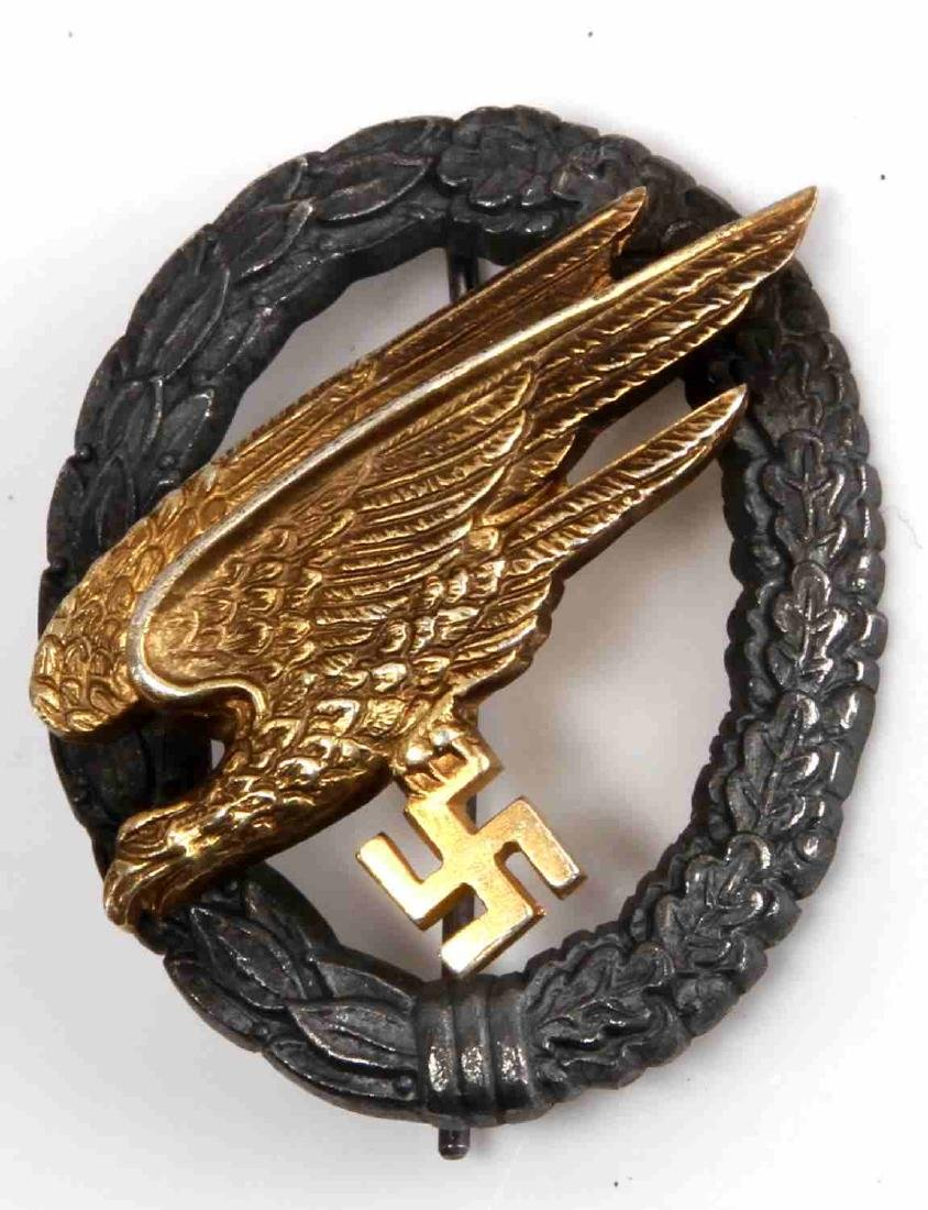 GERMAN WWII LUFTWAFFE PARATROOPER JUMP BADGE