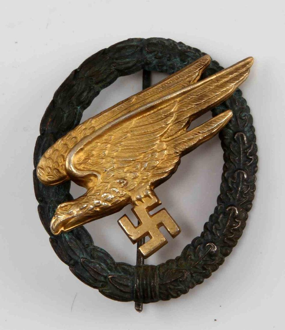 GERMAN WWII LUFTWAFFE FALLSCHIMRJAGER BADGE