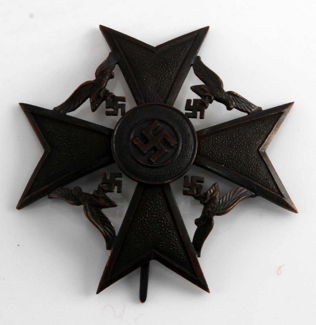 WWII GERMAN THIRD REICH SPANISH CROSS BRONZE