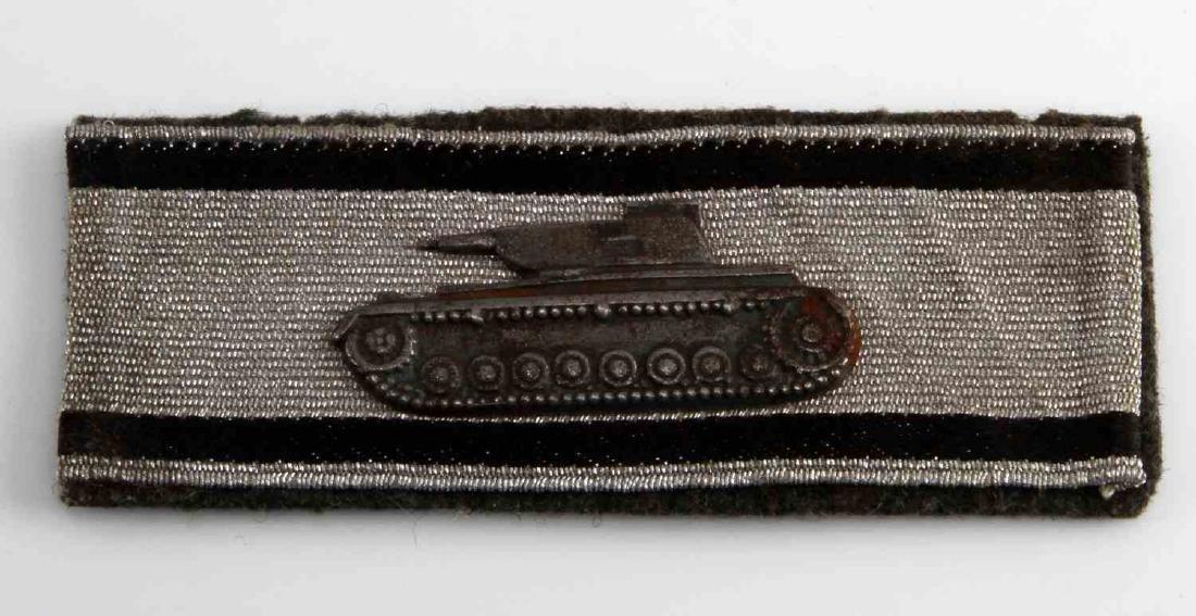 WWII GERMAN THIRD REICH TANK DESTRUCTION BADGE