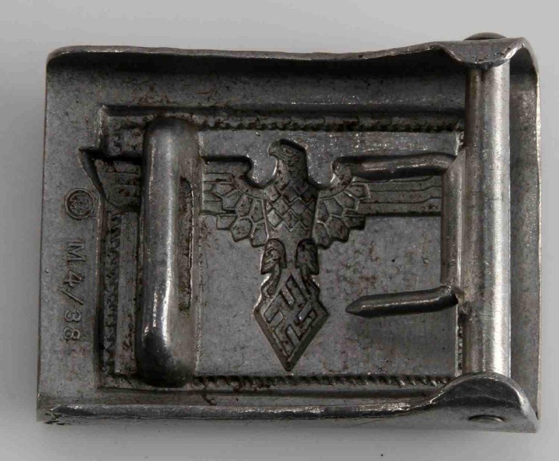 WWII GERMAN THIRD REICH STUDENTBUND BELT BUCKLE - 2