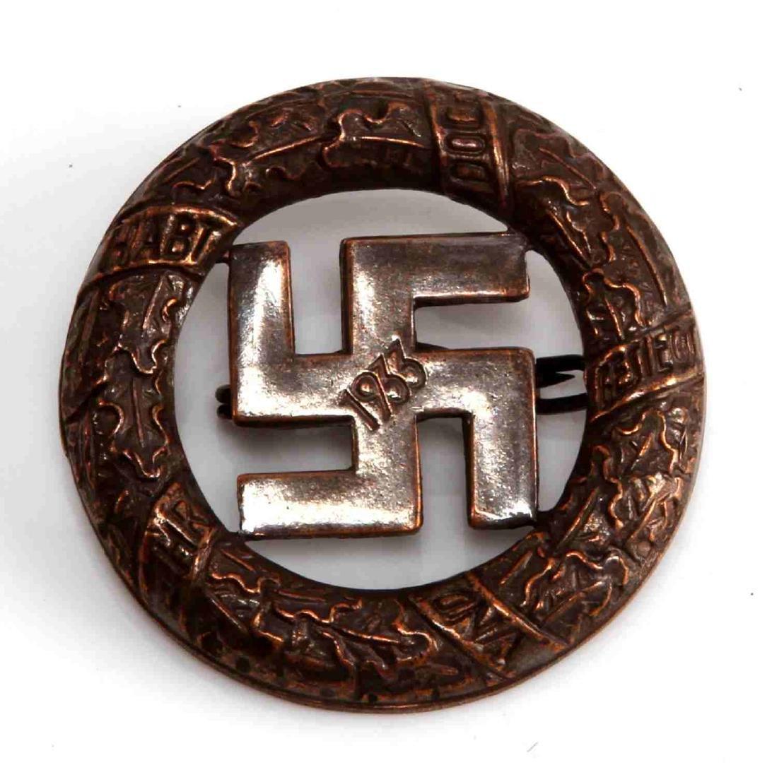 WWII GERMAN THIRD REICH NSDAP BLOOD ORDER BADGE
