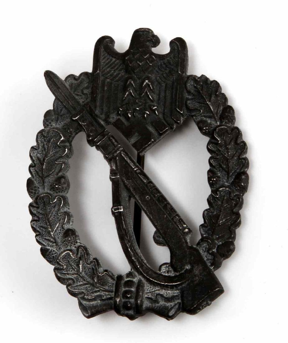 WWII GERMAN THIRD REICH INFANTRY ASSAULT BADGE