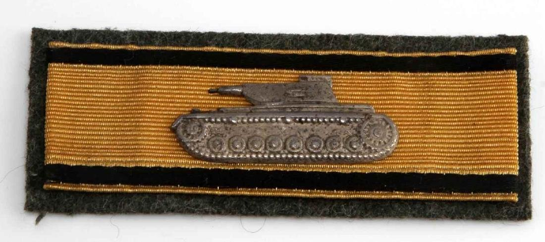 WWII GERMAN THIRD REICH TANK DESTRUCTION BADGE
