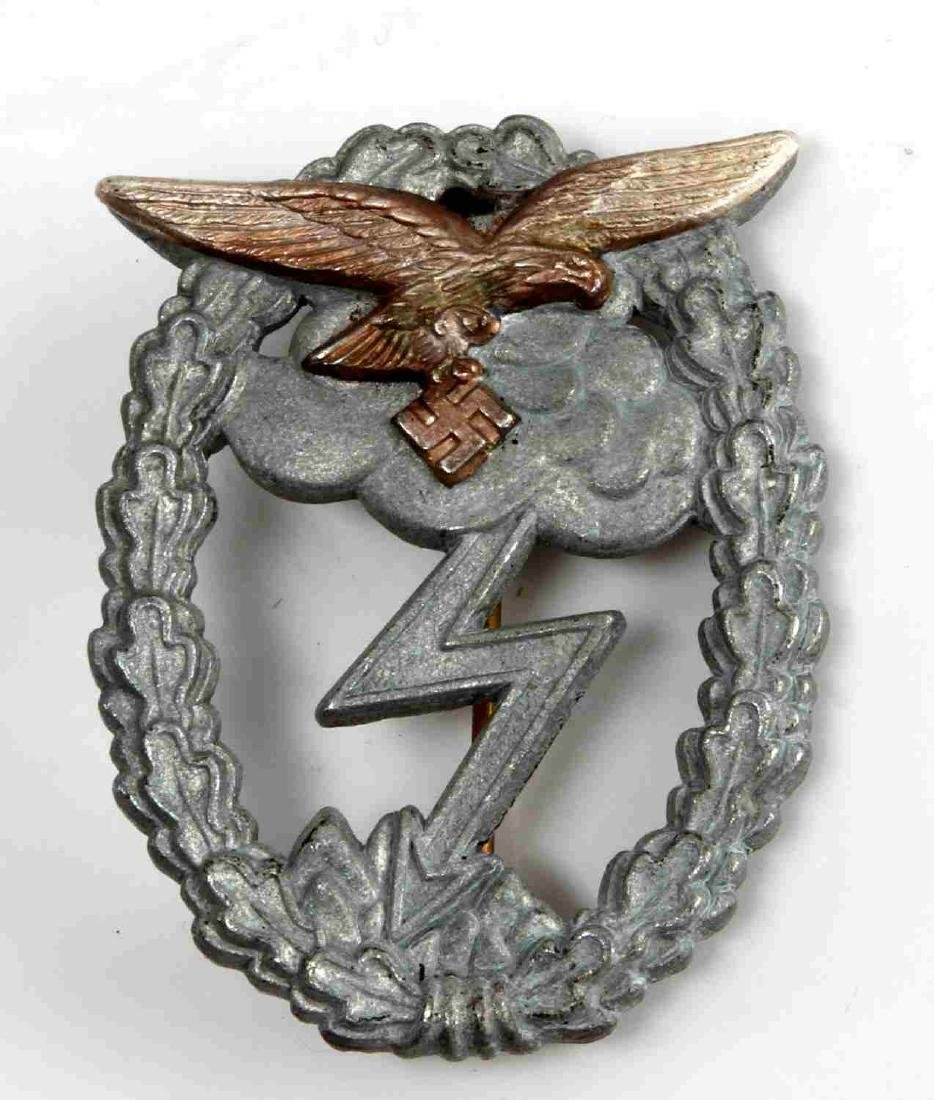 WWII GERMAN THIRD REICH LUFTWAFFE GROUND BADGE