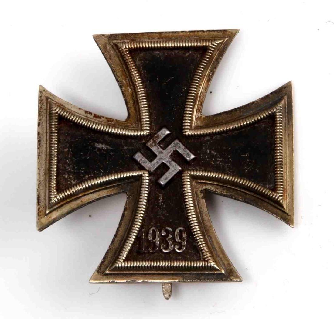 WWII GERMAN THIRD REICH SS IRON CROSS 1ST CLASS