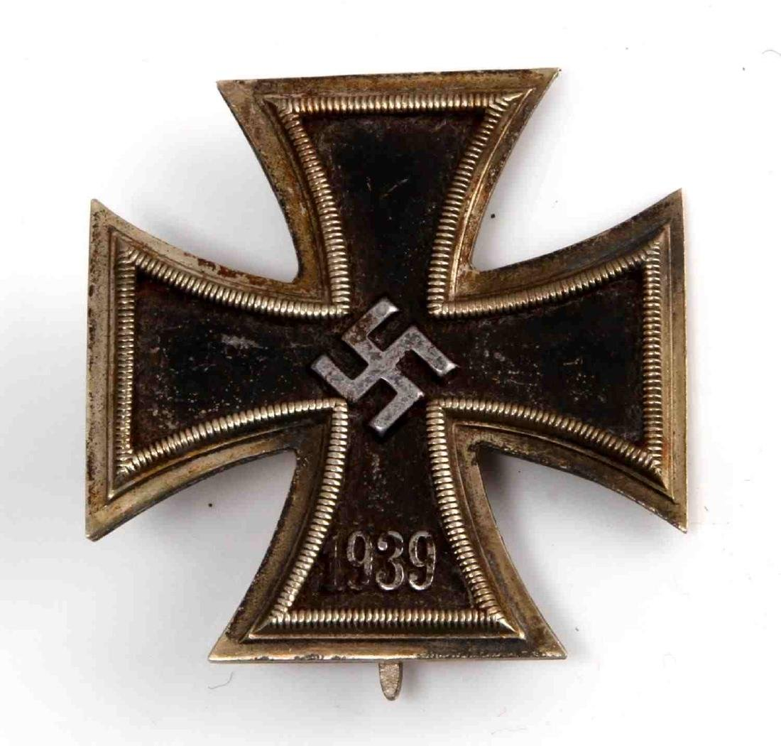 WWII GERMAN THIRD REICH SS IRON CROSS 1ST CLASS