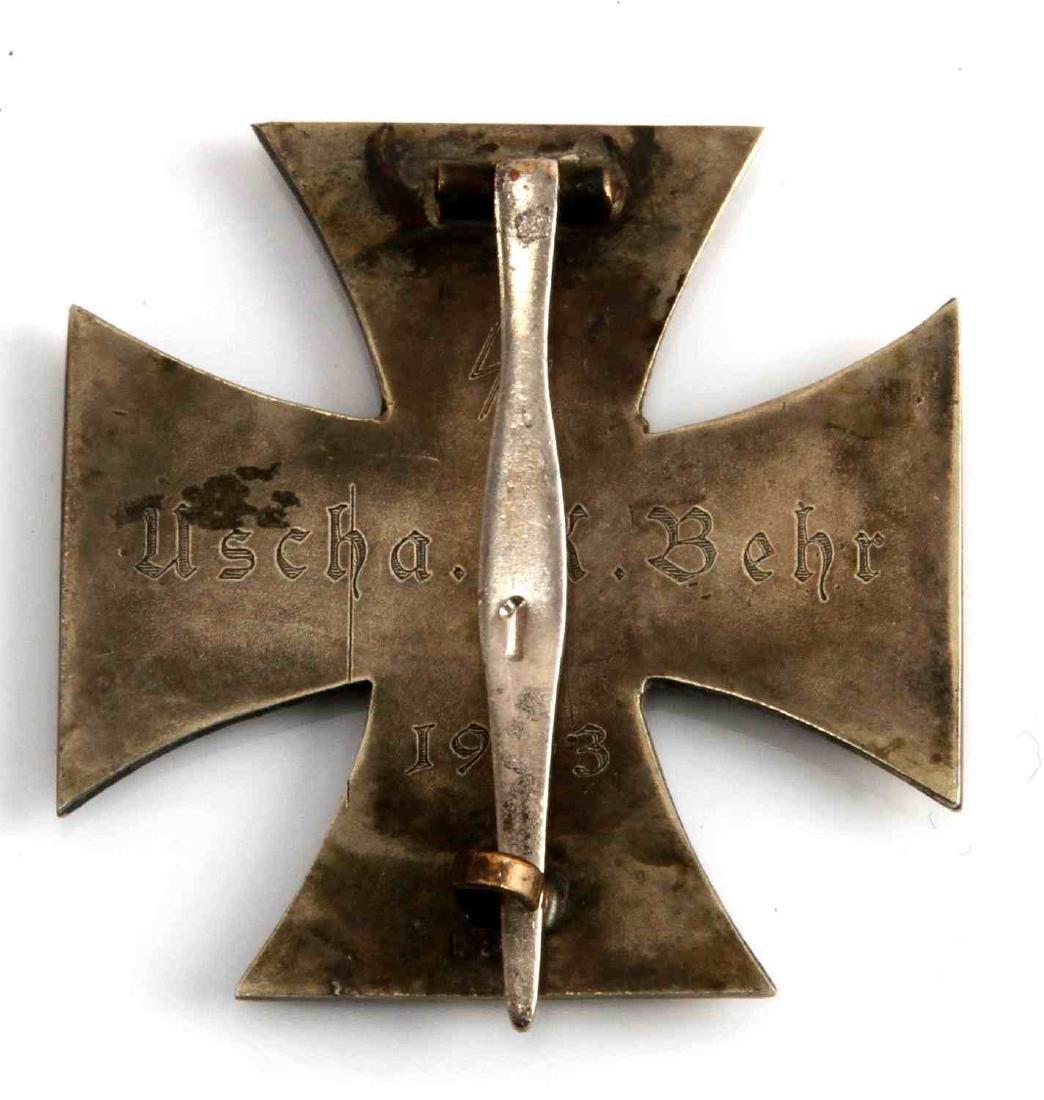 WWII GERMAN THIRD REICH SS IRON CROSS 1ST CLASS - 2
