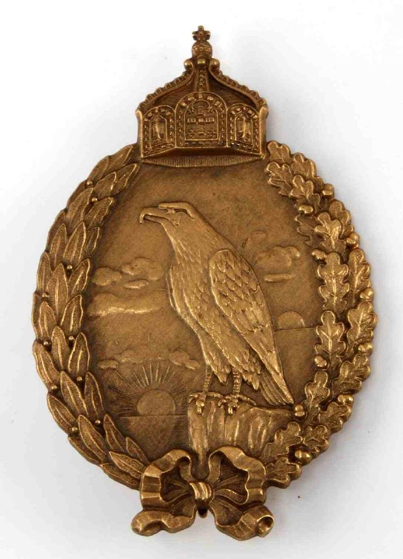 IMPERIAL GERMAN NAVAL KRIEGSMARINE OBSERVER BADGE