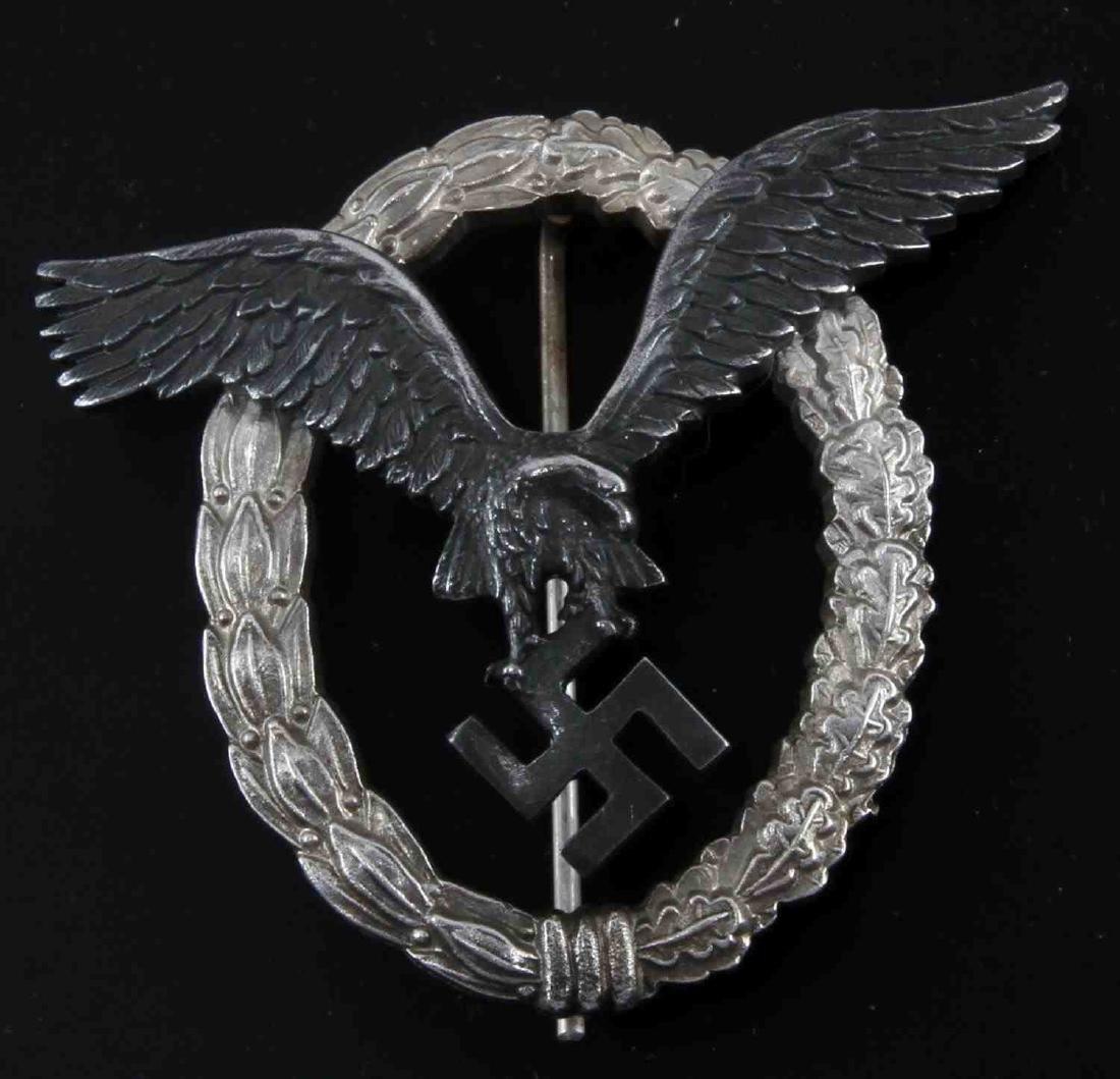 GERMAN WWII THIRD REICH LUFTWAFFE PILOT BADGE