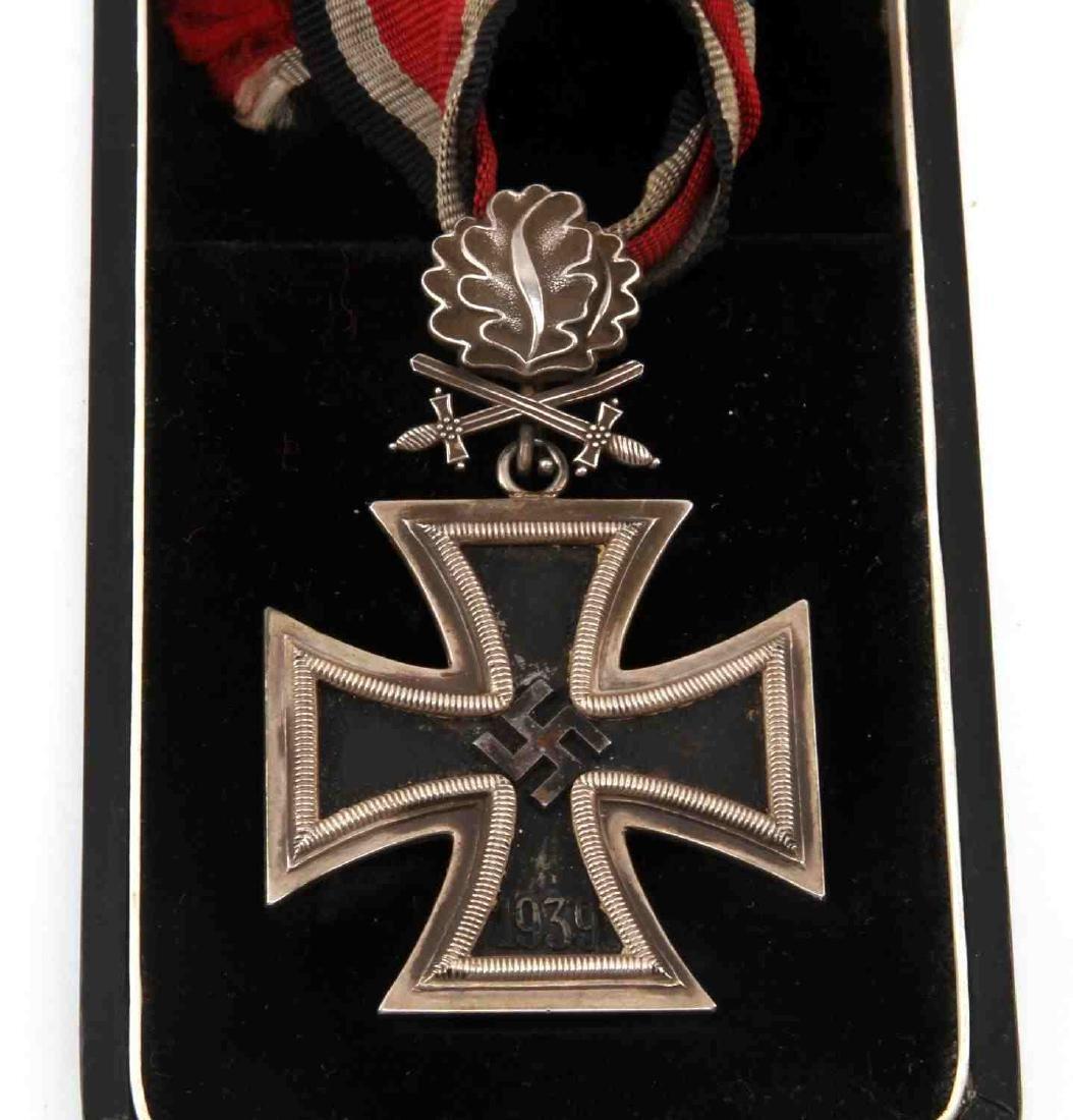 CASED GERMAN WWII THIRD REICH KNIGHTS CROSS - 2