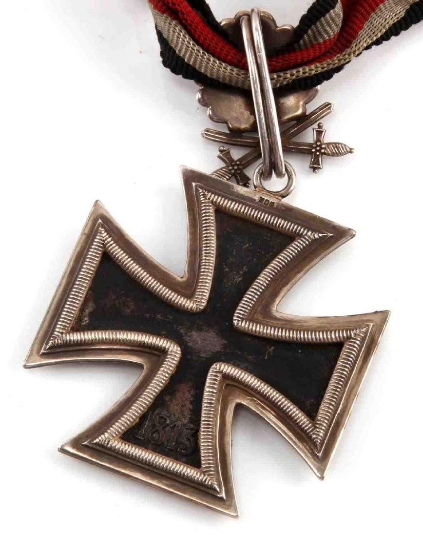 CASED GERMAN WWII THIRD REICH KNIGHTS CROSS - 3