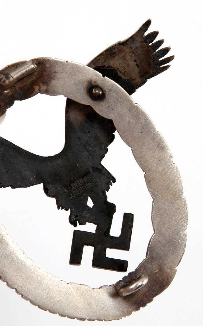 GERMAN WWII LUFTWAFFE PILOT QUALIFICATION BADGE - 3