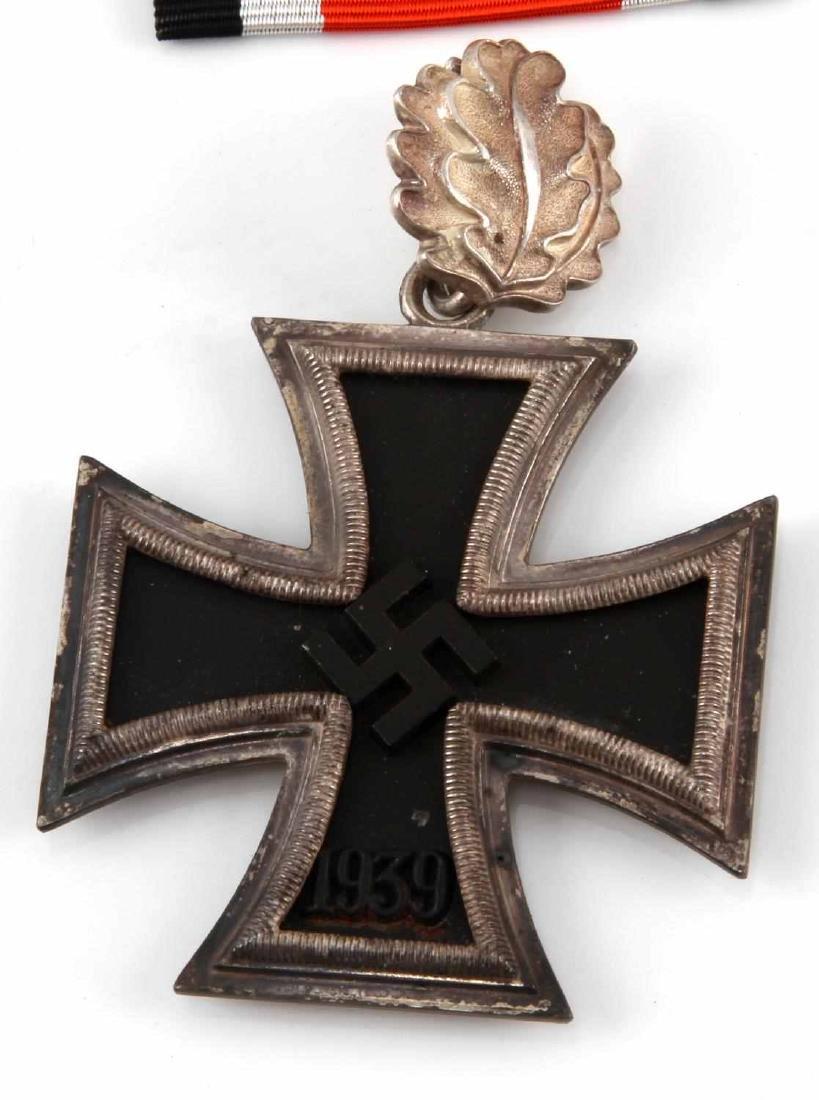 WWII GERMAN THIRD REICH KNIGHTS CROSS W OAK LEAVES - 2