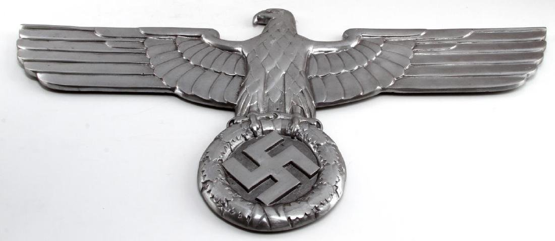 LARGE GERMAN WWII THIRD REICH RAILWAY TRAIN EAGLE