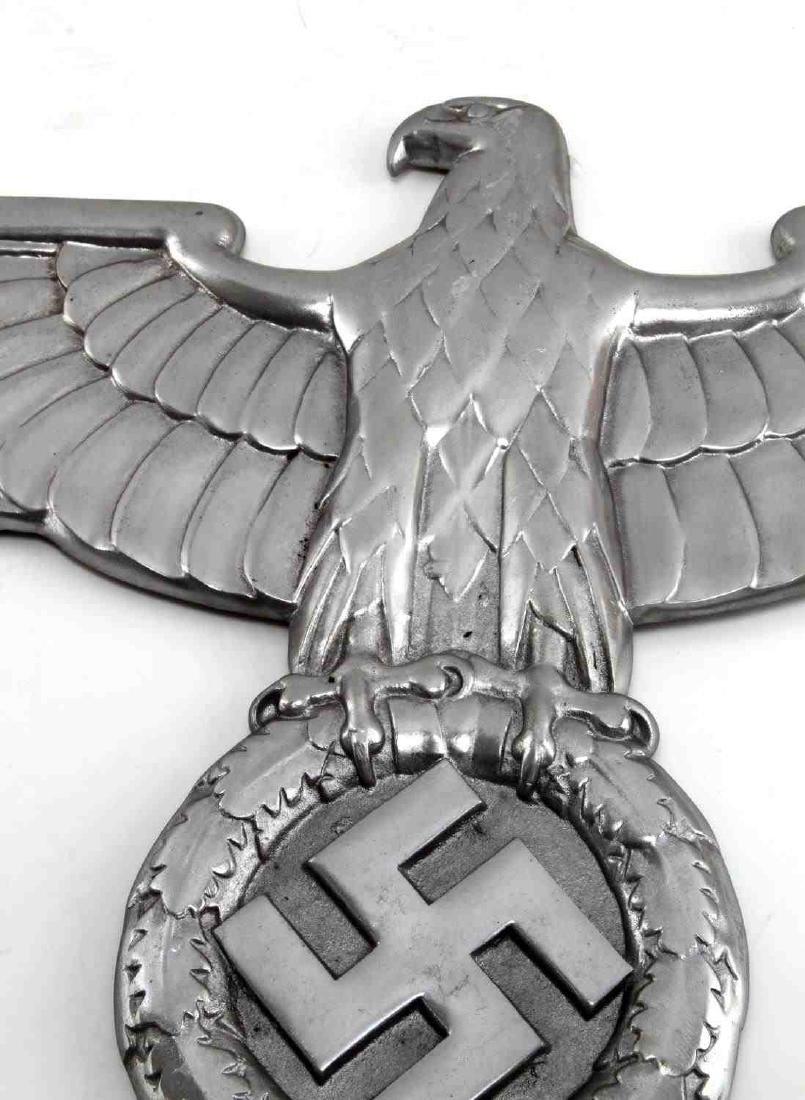 LARGE GERMAN WWII THIRD REICH RAILWAY TRAIN EAGLE - 2