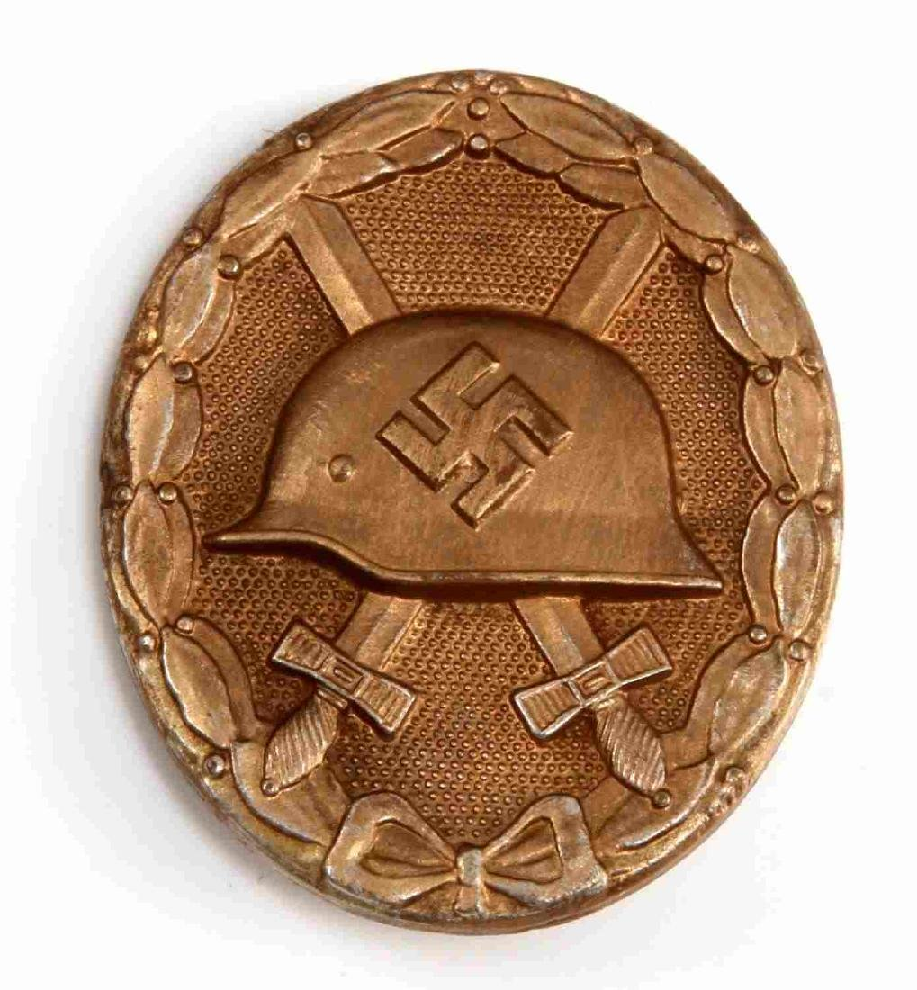 WWII GERMAN THIRD REICH GOLD WOUND BADGE