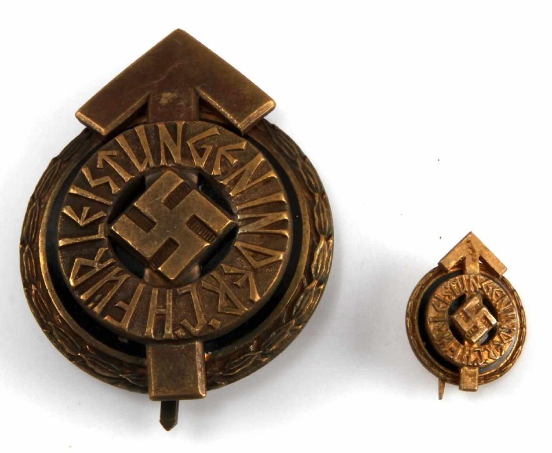WWII GERMAN THIRD REICH HITLER YOUTH LEADER BADGE