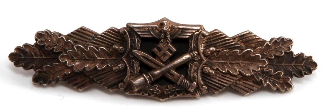 GERMAN WWII SILVER ARMY CLOSE COMBAT CLASP