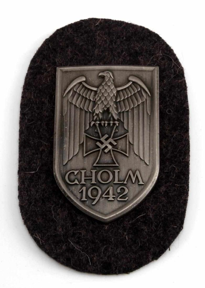 GERMAN WWII ARMY 1942 CHOLM SLEEVE SHIELD