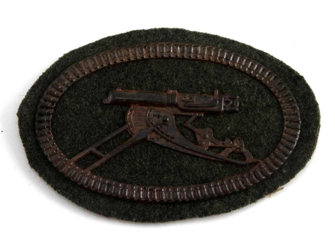 IMPERIAL GERMAN  ARMY MACHINE GUNNER SLEEVE SHIELD