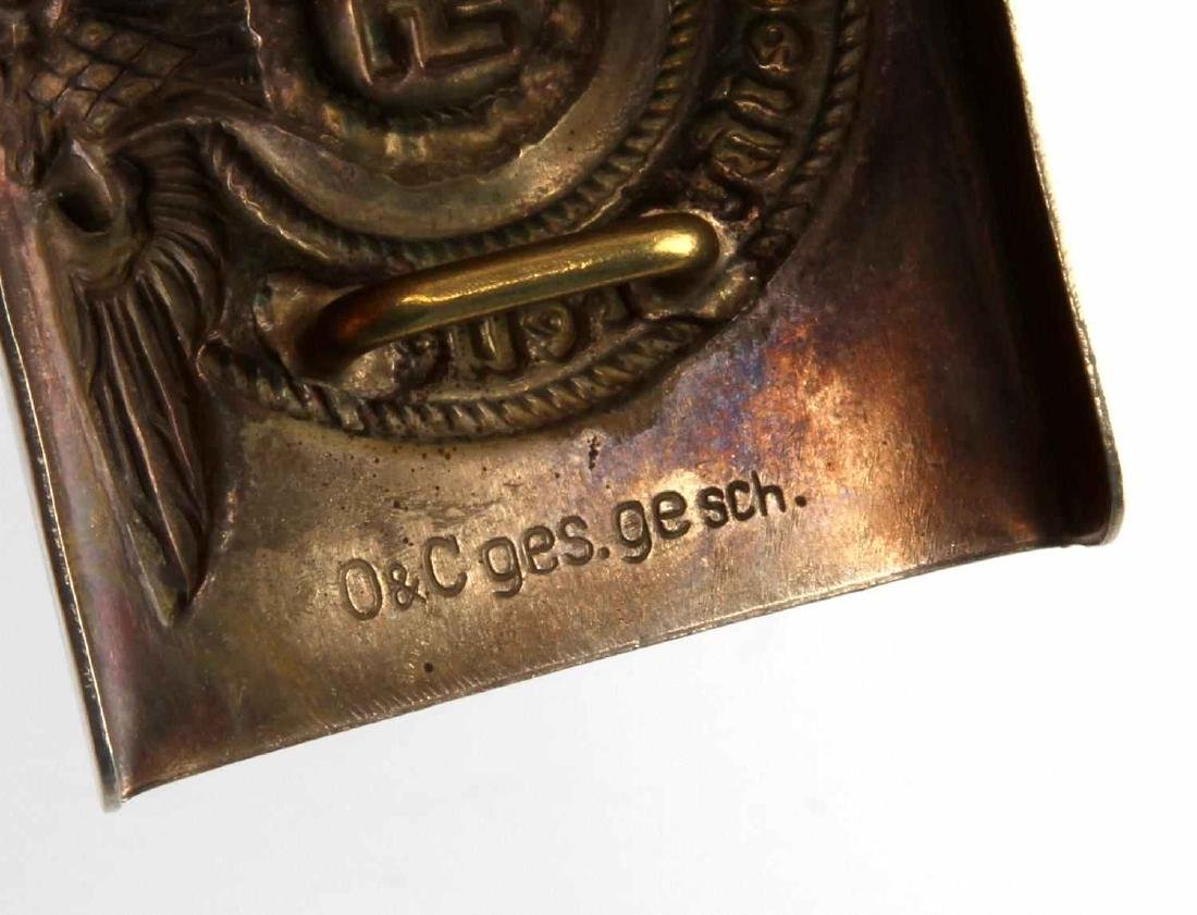 GERMAN WWII WAFFEN SS ENLISTED MAN BELT BUCKLE - 3