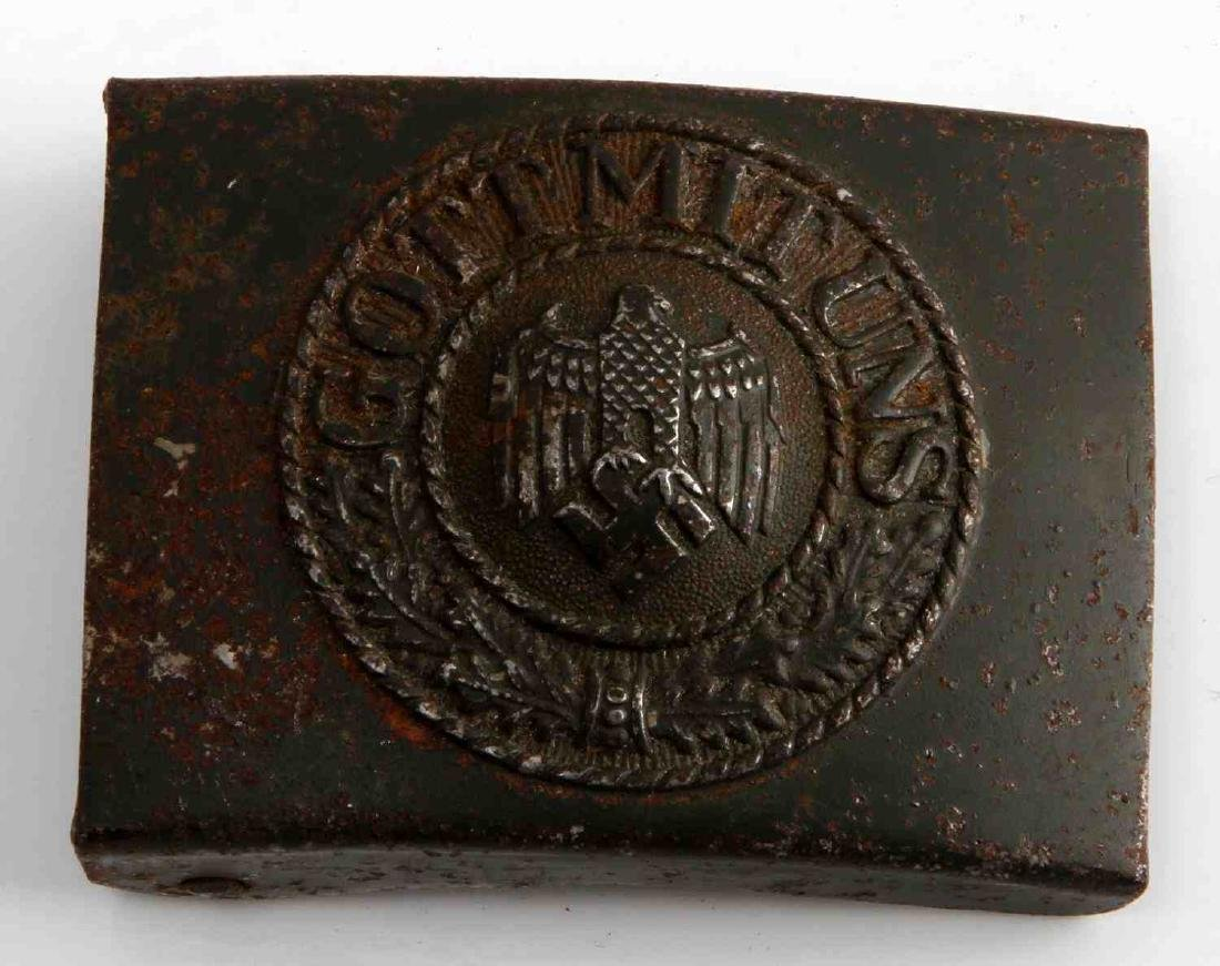 GERMAN WWII ARMY ENLISTED MAN BELT BUCKLE