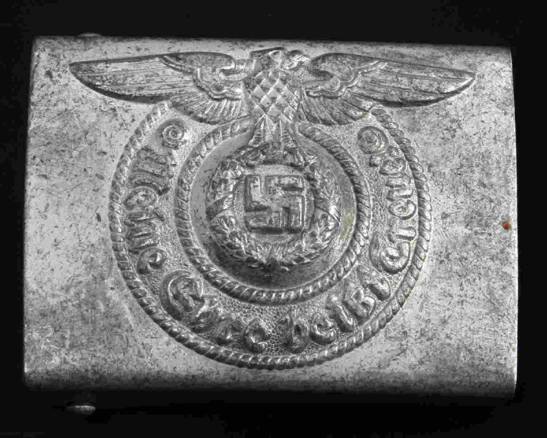 GERMAN WWII WAFFEN SS ENLISTED MAN BELT BUCKLE