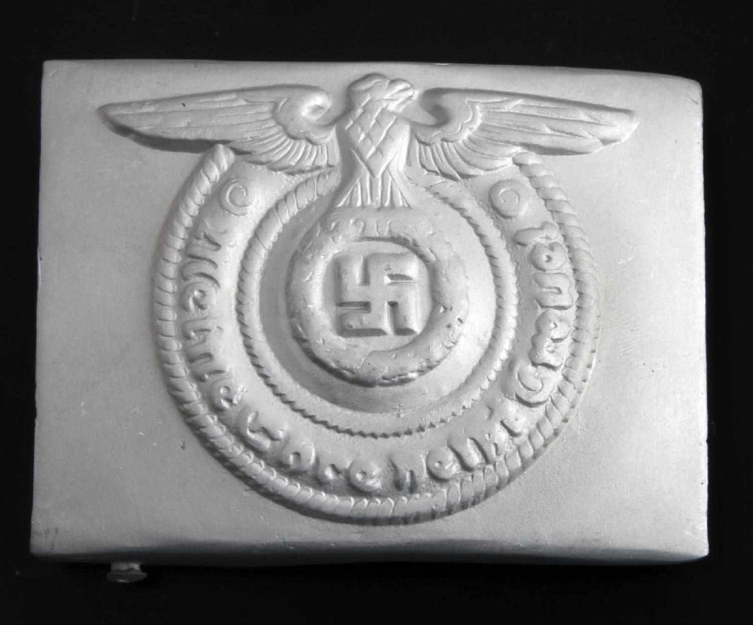 GERMAN WWII WAFFEN SS ENLISTED MAN BELT BUCKLE
