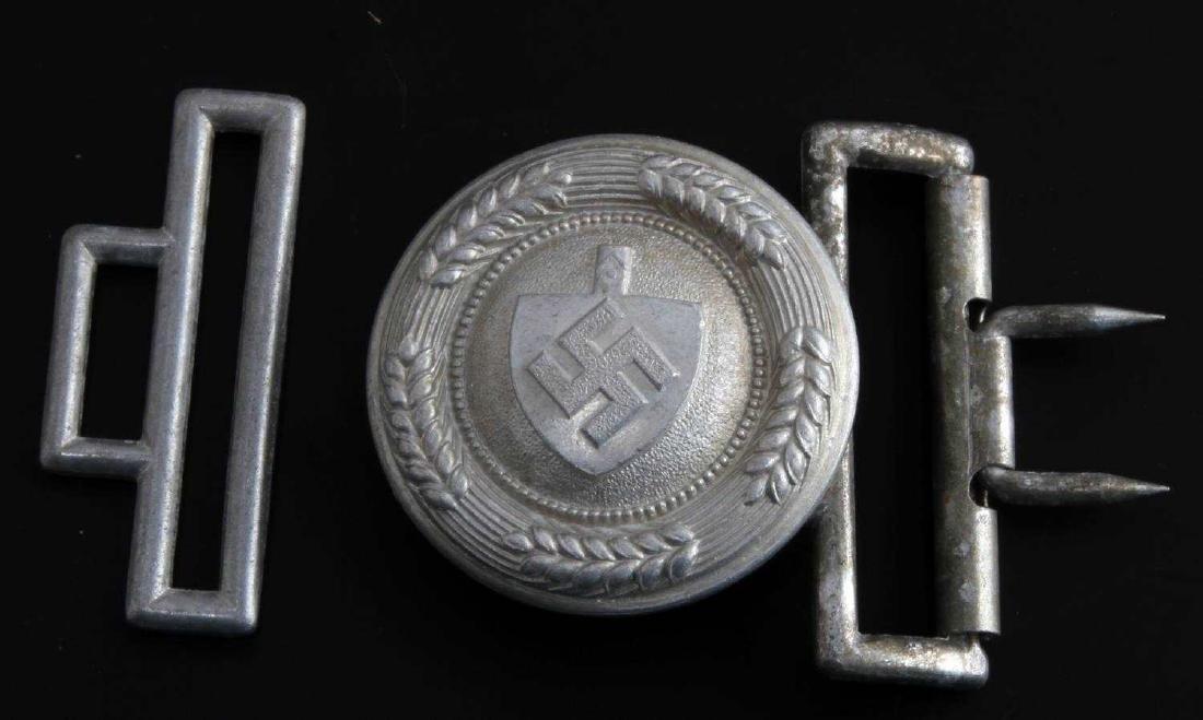 WWII GERMAN THIRD REICH RAD OFFICER BELT BUCKLE