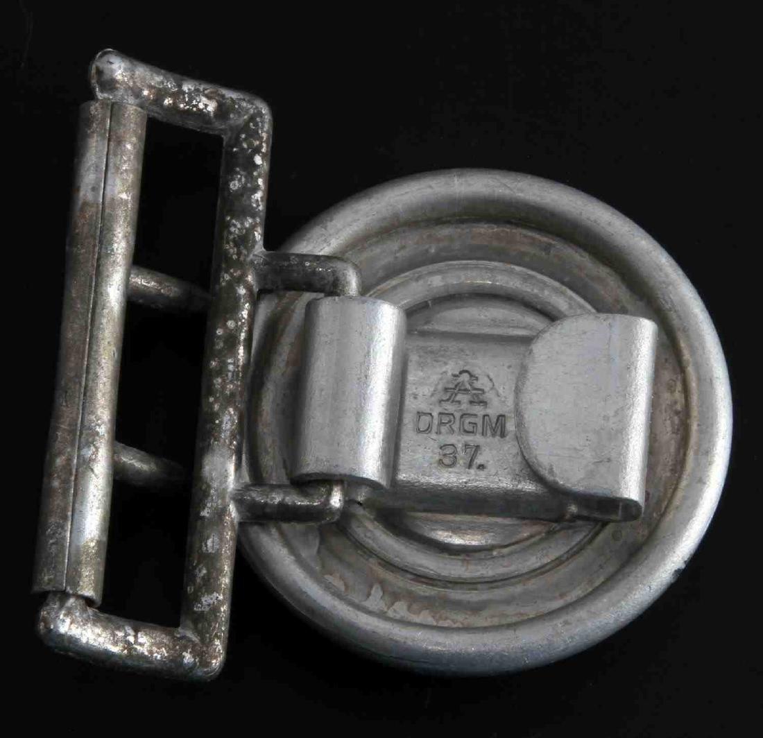 WWII GERMAN THIRD REICH RAD OFFICER BELT BUCKLE - 2