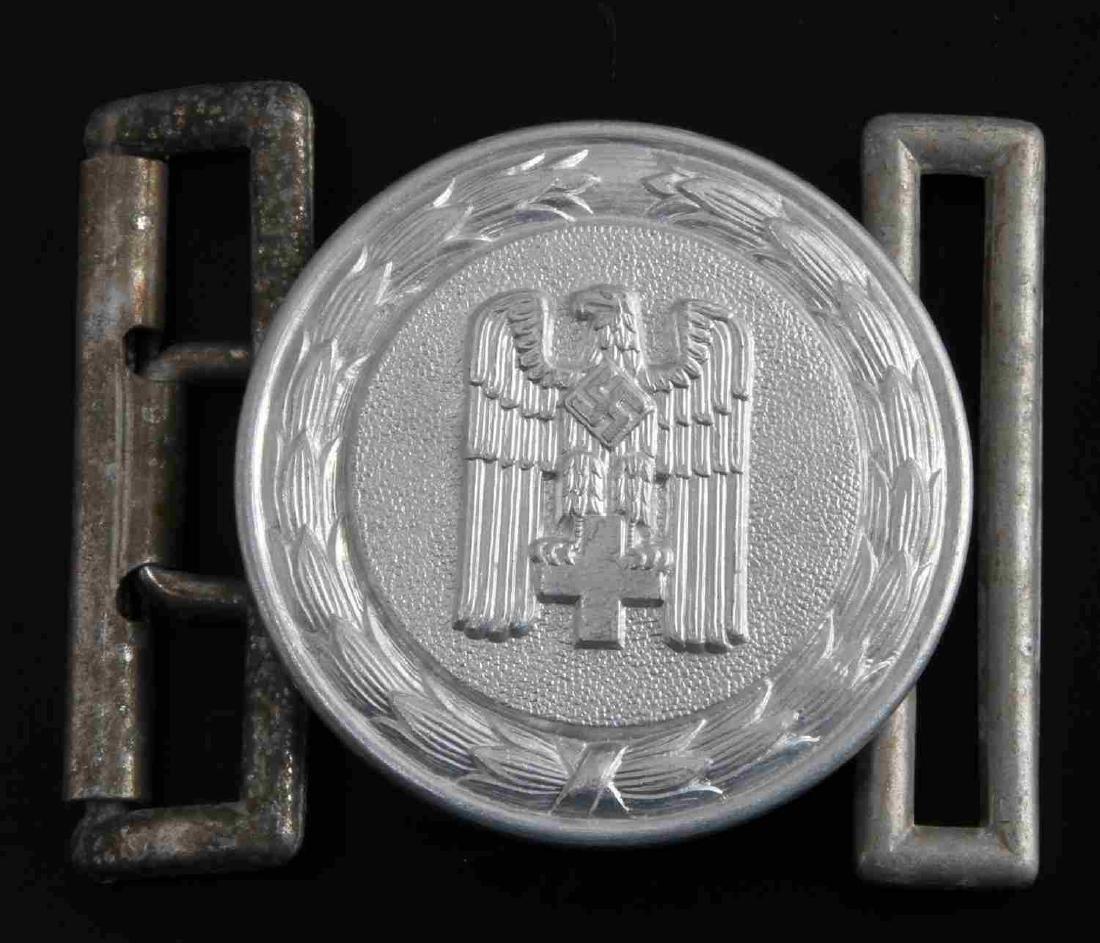 WWII GERMAN THIRD REICH RED CROSS BELT BUCKLE