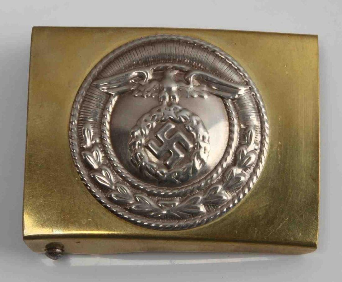 WWII GERMAN THIRD REICH SA BROWN SHIRT BELT BUCKLE