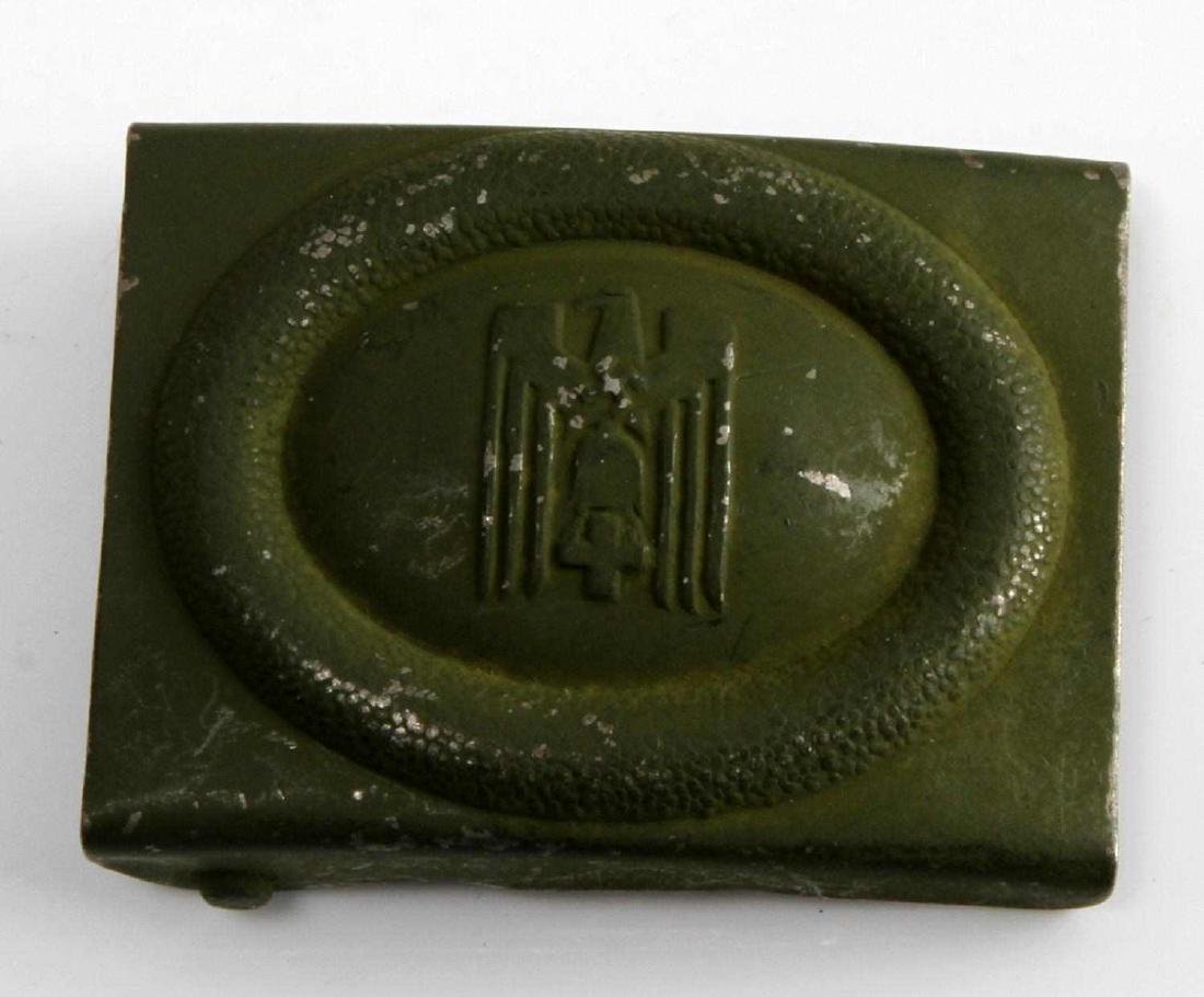GERMAN WWII RED CROSS ENLISTED MAN BELT BUCKLE