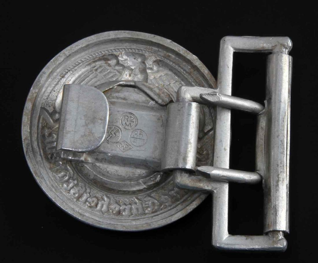 GERMAN WWII WAFFEN SS SCHUTZ STAFFEL BELT BUCKLE - 2