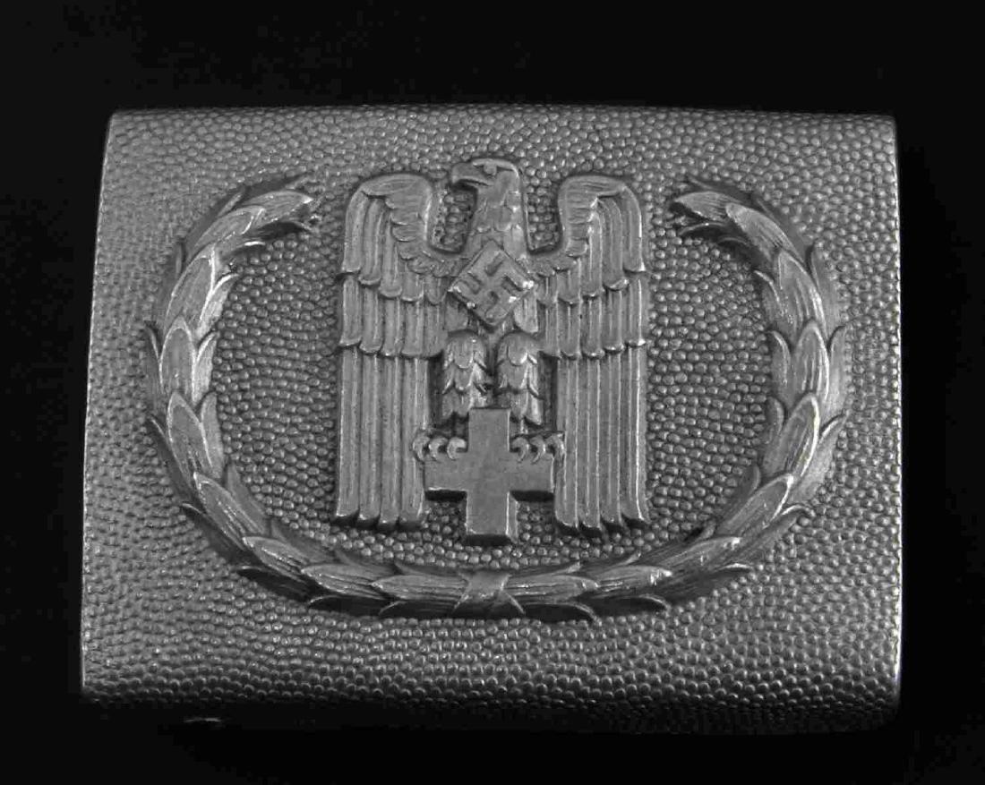 GERMAN WWII RED CROSS ENLISTED MAN BELT BUCKLE