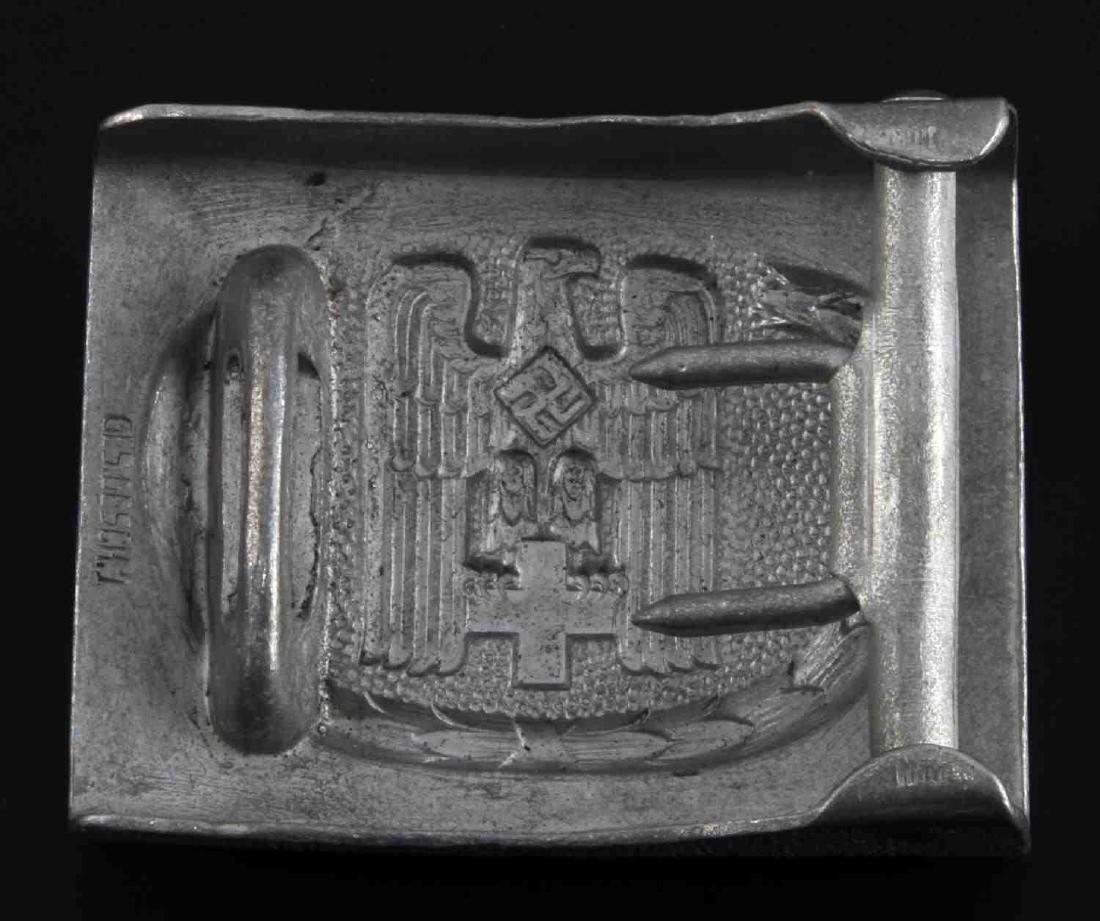 GERMAN WWII RED CROSS ENLISTED MAN BELT BUCKLE - 2