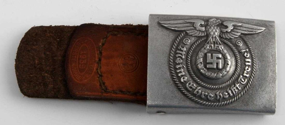 GERMAN WWII WAFFEN SS ENLISTED MANS BELT BUCKLE