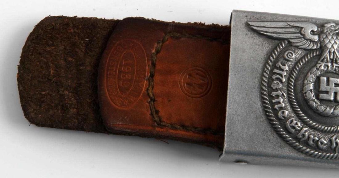 GERMAN WWII WAFFEN SS ENLISTED MANS BELT BUCKLE - 2