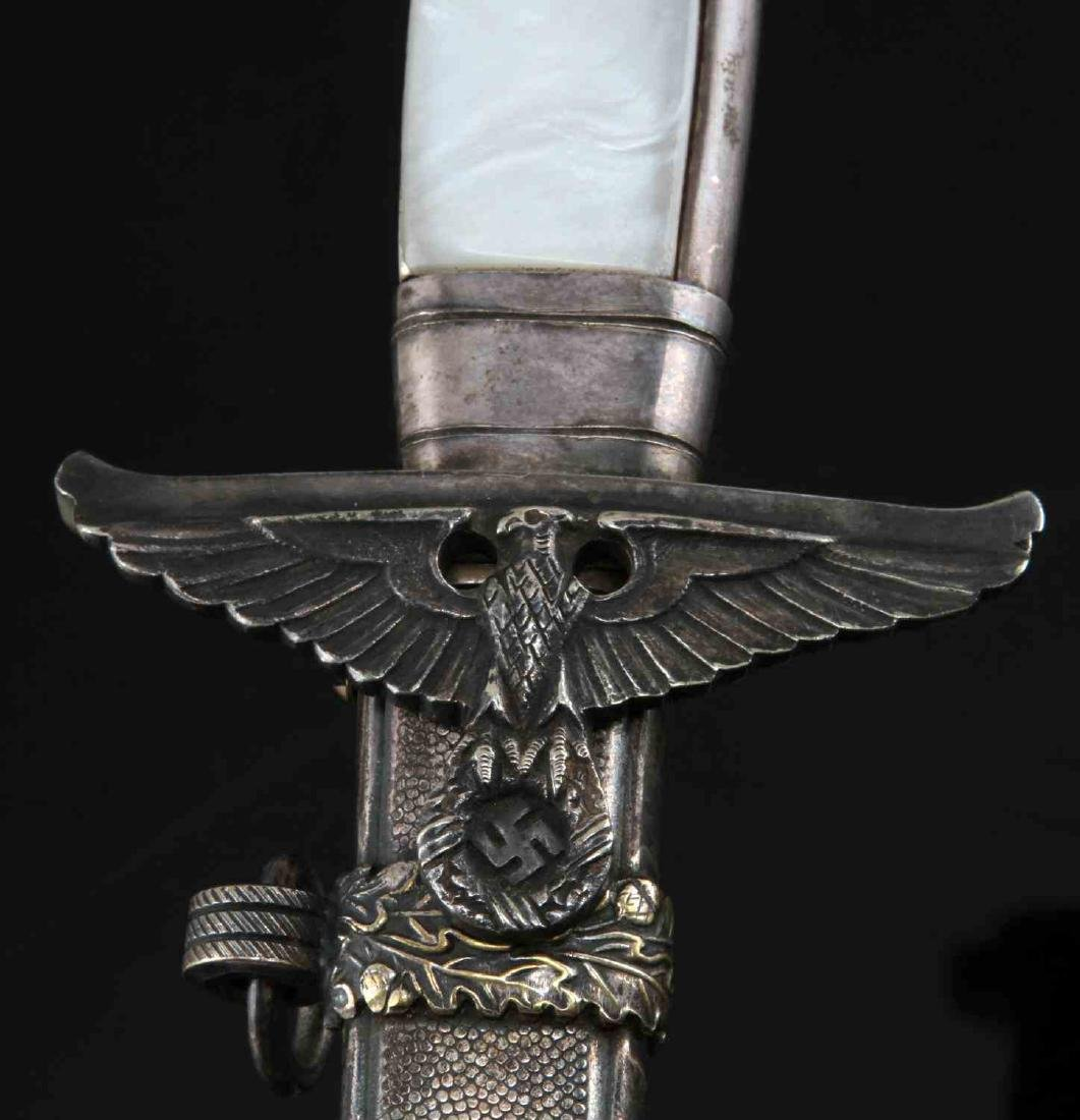 WWII GERMAN THIRD REICH DIPLOMAT OFFICER DAGGER - 6