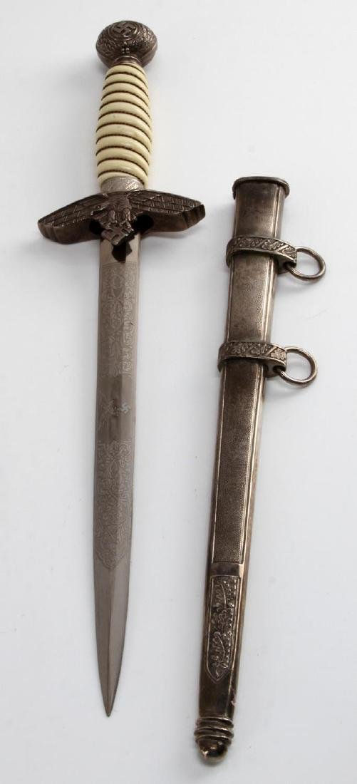 WWII GERMAN THIRD REICH LUFTWAFFE OFFICER DAGGER - 3