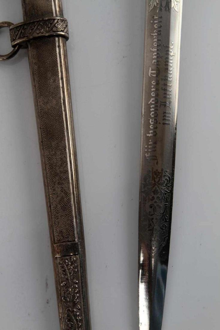 WWII GERMAN THIRD REICH LUFTWAFFE OFFICER DAGGER - 7