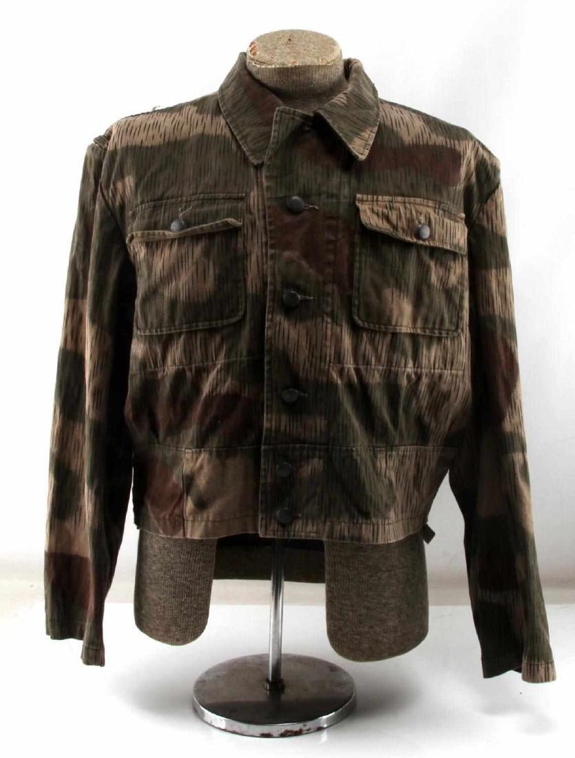 WWII GERMAN THIRD REICH ARMY CAMO FIELD JACKET