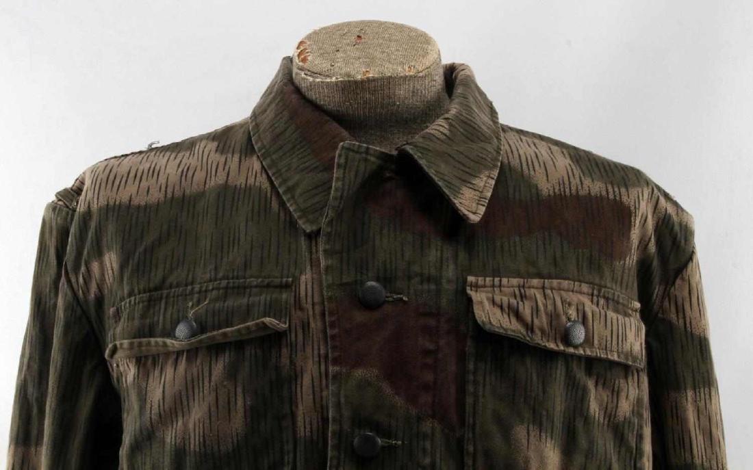 WWII GERMAN THIRD REICH ARMY CAMO FIELD JACKET - 2