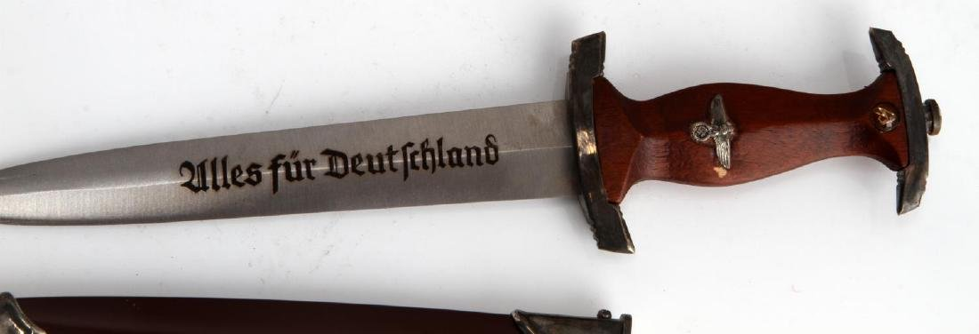 WWII GERMAN THIRD REICH SA EM MINIATURE DAGGER - 2