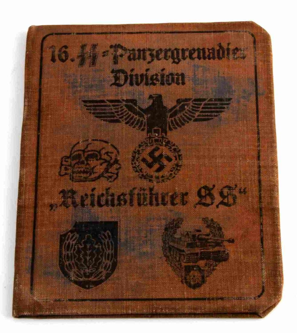 WWII GERMAN THIRD REICH WAFFEN SS ID BOOK