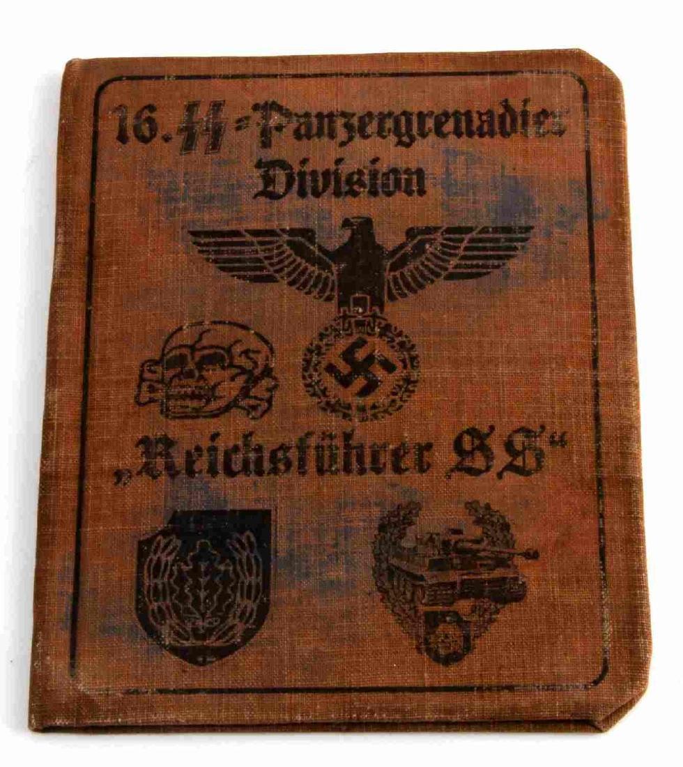 WWII GERMAN THIRD REICH WAFFEN SS ID BOOK