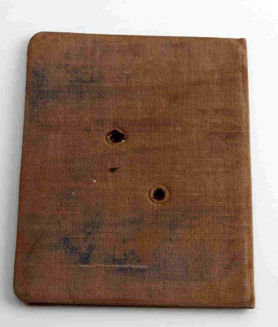 WWII GERMAN THIRD REICH SS LAH SOLDIER ID BOOK - 3