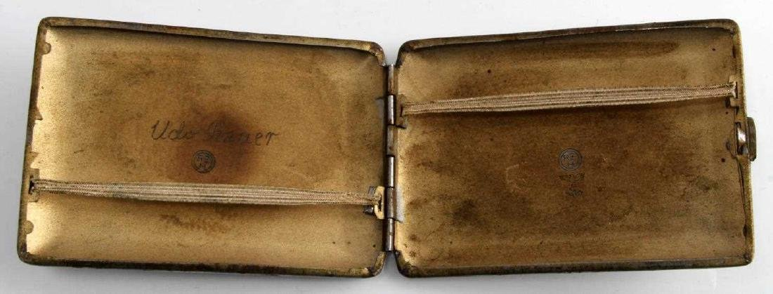 WWII GERMAN 3RD REICH SS WIKING DIV CIGARETTE CASE - 2