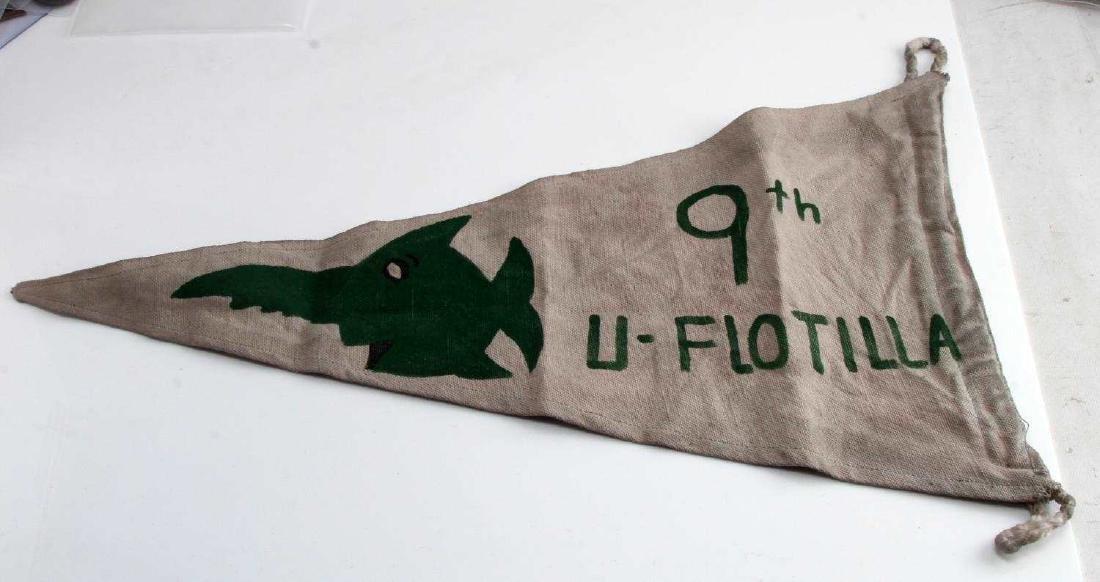 WWII GERMAN THIRD REICH U BOAT FLOTILLA KILL FLAG